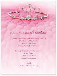 invitaciones para quinceanera la corona invitaciones de quinceañera storkie