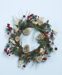 Holiday Pinecone Wreath Pinecone Christmas Decor And Wreaths