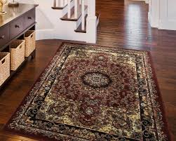 andover mills harrison red black area rug u0026 reviews wayfair