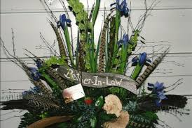 flower arrangements for funerals woodsy galore arrangement funeral flowers in herndon pa
