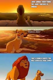 Omaha Meme - look simba everything the light touches is omaha that s council