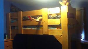 Homemade Loft Bed Homemade Loft Bed 3 Youtube