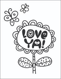 valentines coloring books coloring book