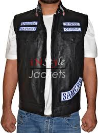 leather motorcycle jackets for sale jax sons teller anarchy motorcycle leather vest
