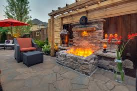 Outdoor Patio Fireplaces Patio Fireplace Ideas Things To Consider Thats My Old House