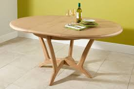 solid oak oval extending dining table zenboa