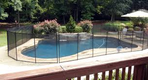 fence pool fence cost unique u201a commendable aluminum pool fence