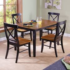 international concepts black cherry wood x back dining chair black cherry wood x back dining chair set of
