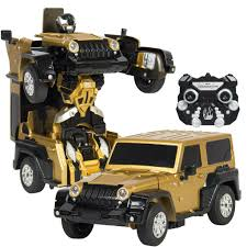 toy jeep for kids best choice products kids toy transformer rc robot car remote control