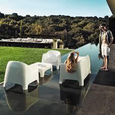 canape exterieur plastique canapé contemporain de jardin en plastique 2 places solid
