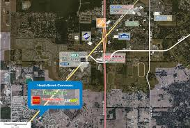 Map Of Ocala Fl Heath Brook Commons Phillips Edison U0026 Company