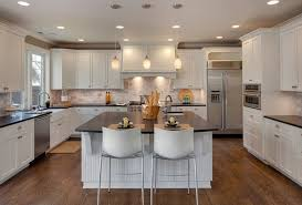 glittering kitchens with islands and peninsulas also soft white