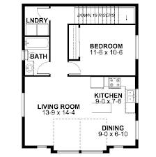 1 bedroom house floor plans floor plan simple house garage bedroom and two planner