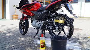 honda cbf 125 bike wash youtube