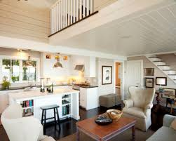 Open Living Room And Kitchen Designs Small Open Kitchen And Living
