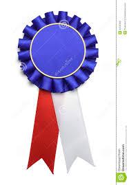 large ribbon usa award ribbon stock photo image 43787945