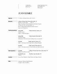 student resume template word 2007 15 fresh teacher resume template word resume sle template and