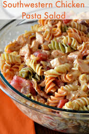 Pasta Salad Recipies by How To Make Southwestern Chicken Pasta Salad