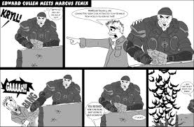 edward cullen vs marcus fenix by pippin1178 on deviantart