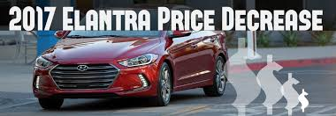 price hyundai elantra hyundai elantra price decrease