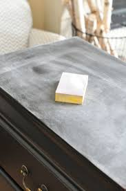 can chalk paint be used without sanding nightstand chalk paint tutorial the grace house