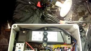 diy halloween prop 2013 electric shock strobe light door bell