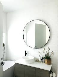 traditional bathroom mirror glamorous bathroom round mirror juracka info on circular