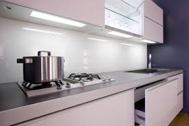 Modern White Kitchen Backsplash Cabinets U0026 Storages Modern White Solid Glass Kitchen Backsplash