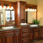 Semi Custom Bathroom Vanities by Semi Custom Bathroom Cabinets With White Color And Black