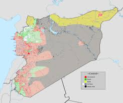 Current Map Of Middle East by Syria Humpty Dumpty Of The Middle East