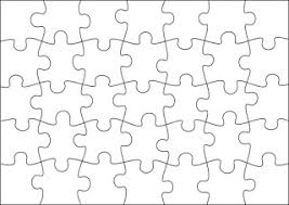 printable blank puzzle places to visit pinterest printable