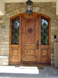 Exterior Doors Wooden Top 15 Exterior Door Models And Designs Wood Entry Front Design