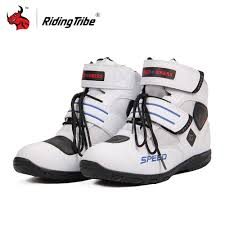 new motorcycle boots new motorcycle short boots riding tribe speed moto racing