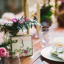 wedding table number ideas table number ideas for wedding reception brides