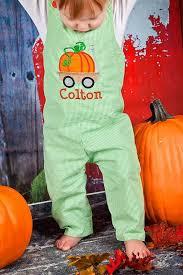 thanksgiving jon jon boys pumpkin wagon jon boys thanksgiving jon lime gingham jon