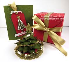krafting kreations christmas tree in an exploding box gift set