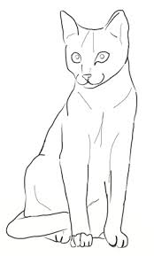 ideas collection cat drawing for letter shishita world com
