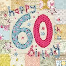 birthday cards for 60 year woman happy 60th birthday card large luxury birthday card karenza paperie