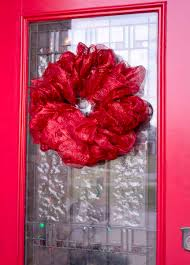How To Make A Mesh Ribbon Wreath Chica And Jo