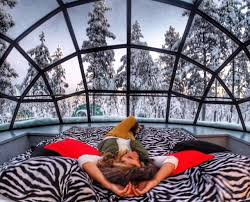 norway northern lights igloo when its cold outside the f word