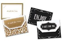 gift cards and holders
