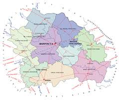Agra India Map by Official Web Site Of Mainpuri Up