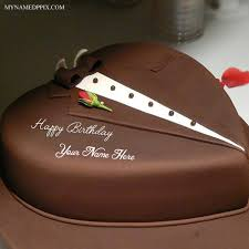 write name on romantic birthday cake for husband wishes pictures