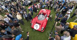 the five most expensive cars on auction at pebble beach
