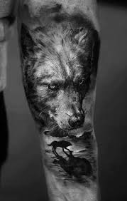 best 25 wolf tattoo forearm ideas on pinterest wolf tattoos