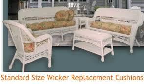 wicker and rattan cushions lloyd flanders cushions