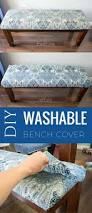 washable bench cover for dining table food fun kids
