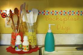 colorful diy kitchen backsplash ideas kitchen backsplash diy