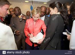 Hillary Clinton Hometown by Senator Hillary Clinton With African American Clergy At Press