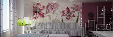 Wallpapers For Home Interiors Wallpaper Works Ambience Home Interiors Exteriors Trivandrum